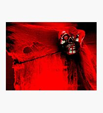 The Crimson Ghost Photographic Print