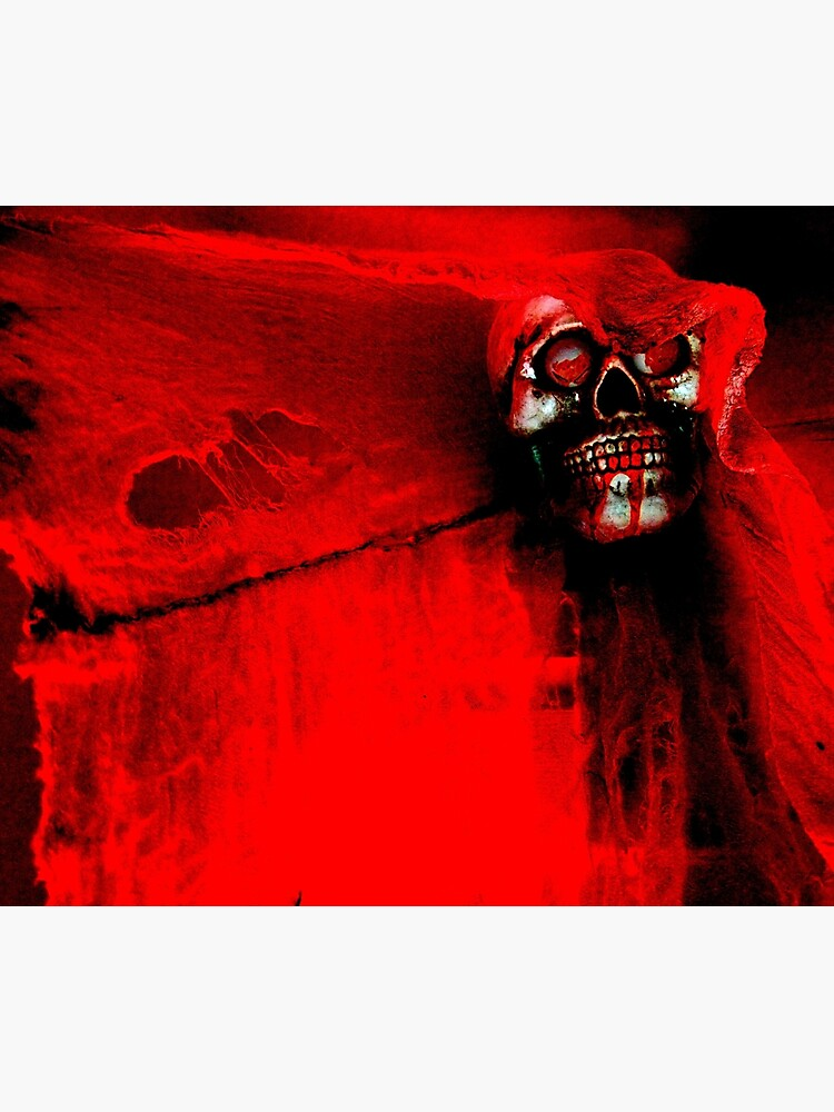 The Crimson Ghost Photographic Print By Hallowaltz Redbubble