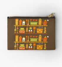 Lets Cook at Home Zipper Pouch