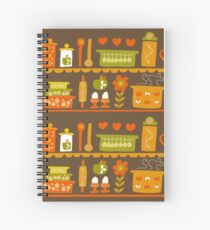 Lets Cook at Home Spiral Notebook