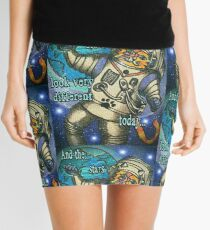 Space Cat Oddity Mini Skirt