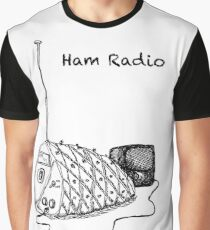 Ham Radio (BW) Graphic T-Shirt