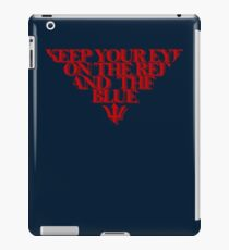 Melbourne Demons - The Red & the Blue iPad Case/Skin