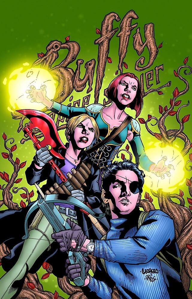 Buffy Comic Trio by badermunayes