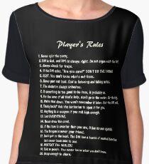D&D - Player's Rules Women's Chiffon Top