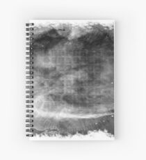 The Atlas of Dreams - Plate 1 (b&w) Spiral Notebook
