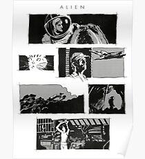 Alien montage Poster