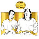 McMurphy and the Chief by Nathan Anderson
