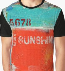"""Sunshine"" Graphic T-Shirt"