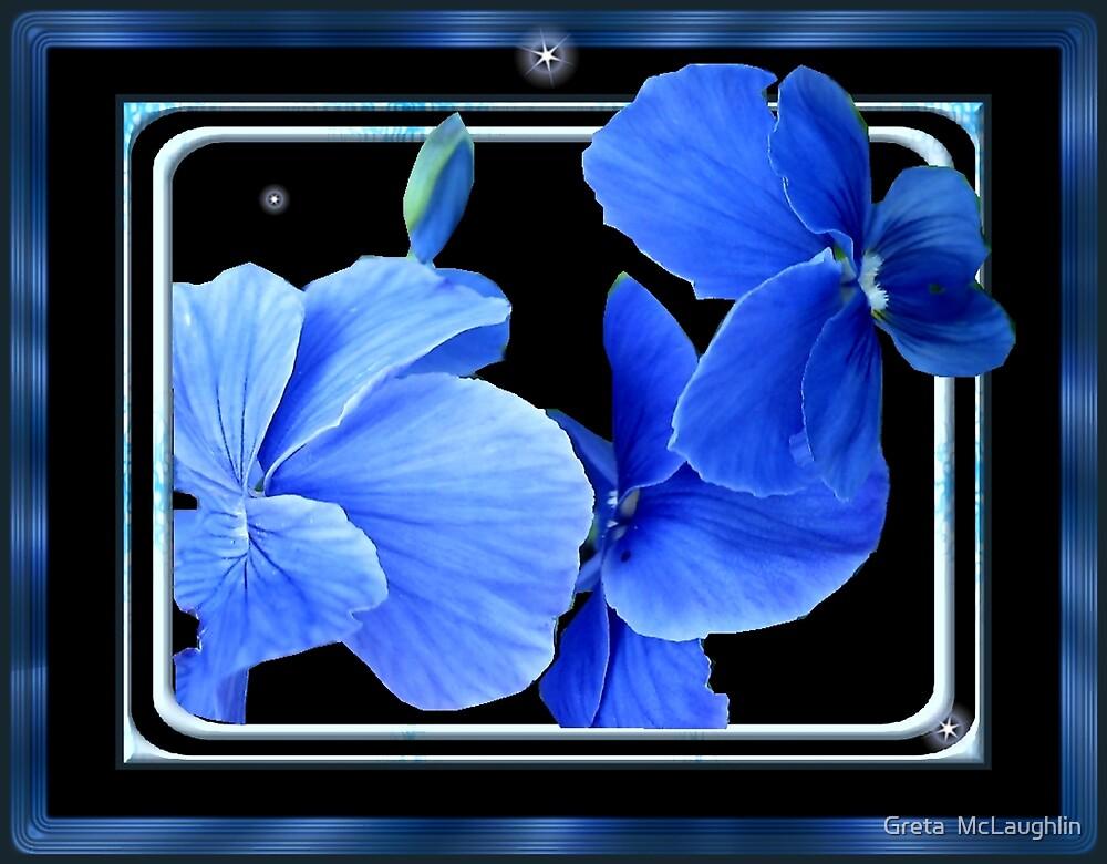 The Blues by Greta  McLaughlin