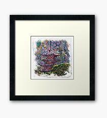 The Atlas of Dreams - Color Plate 185 Framed Print