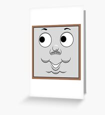 Toby (cheeky face) Greeting Card