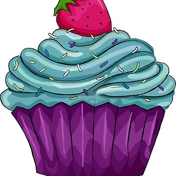 Cupcaakes and Strawberries  by mlswig