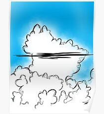 Thunderstorm Cloud Buildup Poster