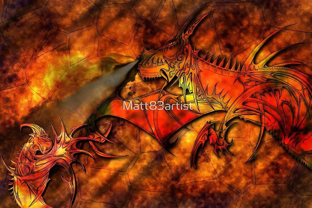 King of Dragons by Matt83artist
