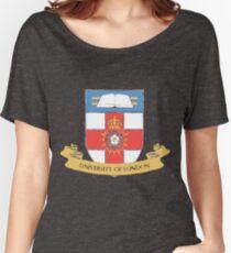 Armoiries de l'Université de Londres T-shirts coupe relax