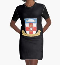 University of London Coat of Arms Graphic T-Shirt Dress