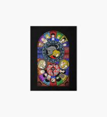 Fullmetal Alchemist Stained Glass Art Board