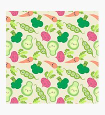 VEGETABLE PARTY! Photographic Print