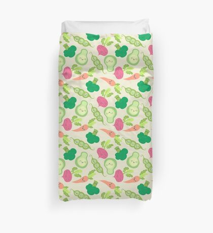 VEGETABLE PARTY! Duvet Cover