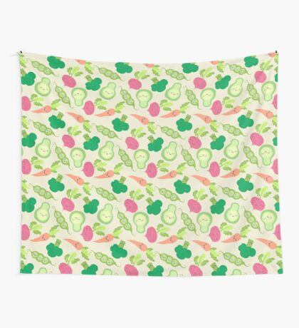 VEGETABLE PARTY! Wall Tapestry