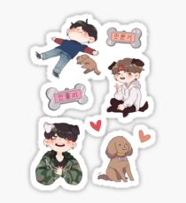 yoongi and holly  Sticker