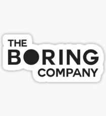 The Boring Company Sticker