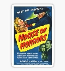 House of Horrors - horror movie Sticker