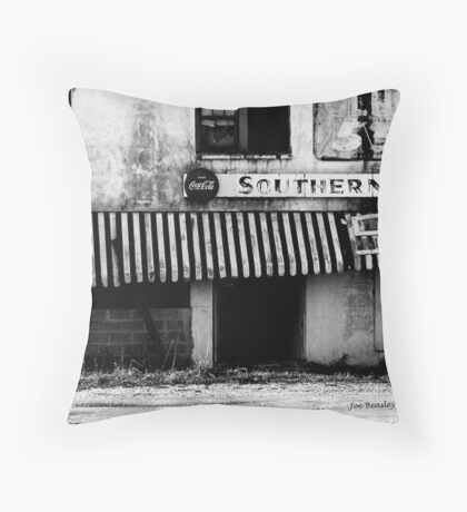 The Southern Queen Roadhouse Throw Pillow
