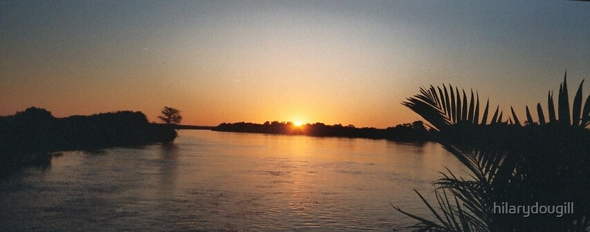Another Nile sunset by hilarydougill