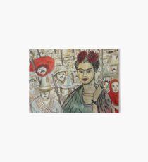 Frida Kahlo Revolution Lámina de exposición