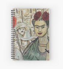 Frida Kahlo Revolution Cuaderno de espiral