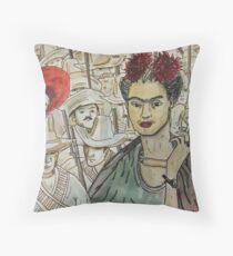 Frida Kahlo Revolution Cojín