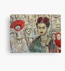 Frida Kahlo Revolution Lienzo