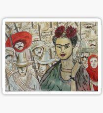 Frida Kahlo Revolution Pegatina