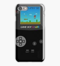 Retro Nintendo Game Boy Super Mario  iPhone Case/Skin