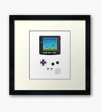 Retro Nintendo Game Boy Super Mario  Framed Print