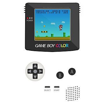 Retro Nintendo Game Boy Super Mario  by CroDesign