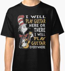 DR SEUSS GUITAR LOVERS Classic T-Shirt
