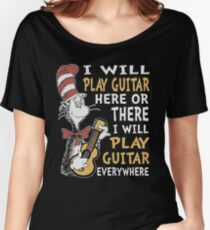 DR SEUSS GUITAR LOVERS Women's Relaxed Fit T-Shirt