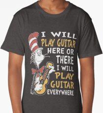 DR SEUSS GUITAR LOVERS Long T-Shirt