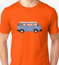 T25 VW camper blue big bumper Unisex T-Shirt