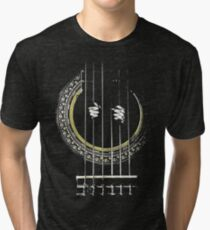 GUITAR SHIRT GUITAR PRISONER Tri-blend T-Shirt