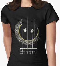 GUITAR SHIRT GUITAR PRISONER Womens Fitted T-Shirt