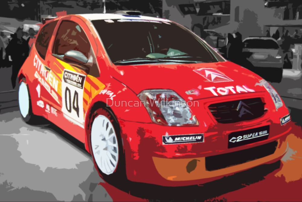 Rally Car 1 by Duncan Wilkinson