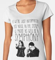 Root and Shaw - Symphony - Person of interest Women's Premium T-Shirt