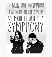 Root and Shaw - Symphonie - Person von Interesse Poster