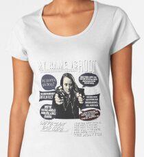 Root - Person of interest - Amy Acker Women's Premium T-Shirt