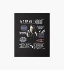 Root - Person of interest - Amy Acker Art Board