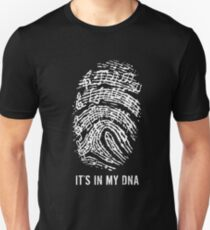MUSIC NOTES IT IS IN MY DNA T-Shirt